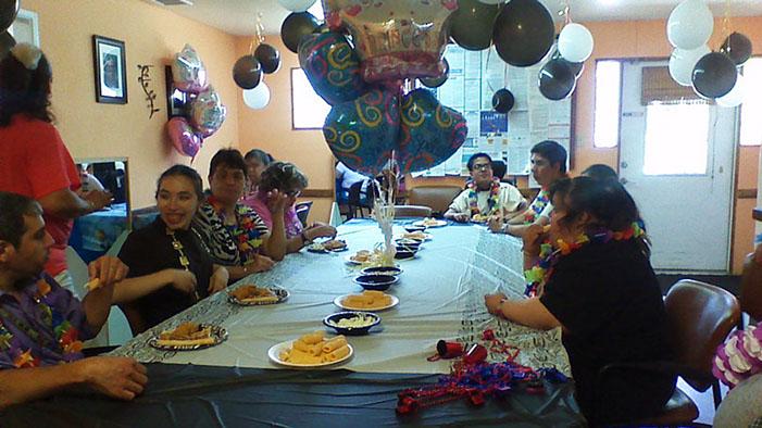 Birthday party at La Española