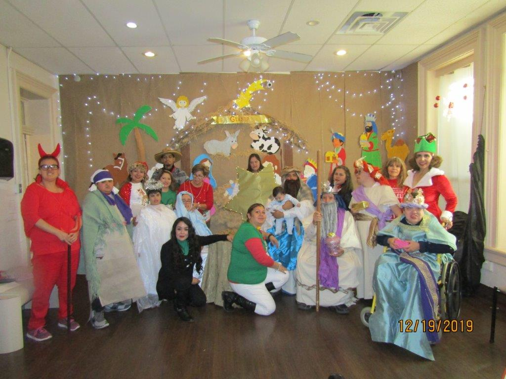Our Christmas pageant at DTTA La Española