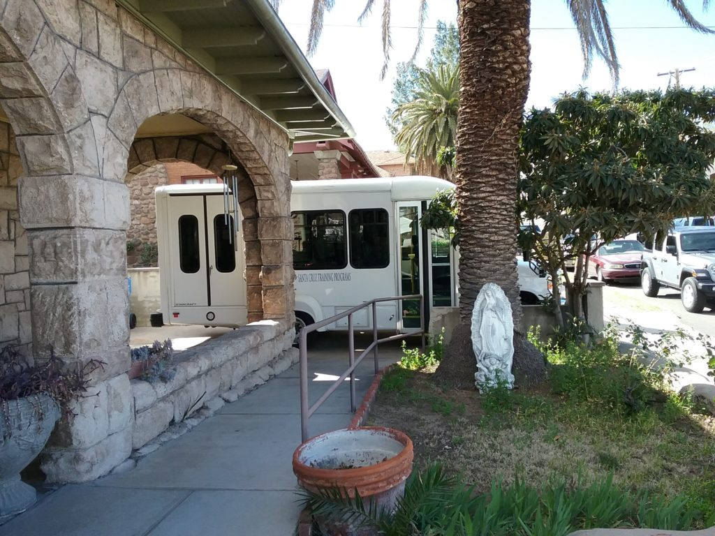 Transportation at group home