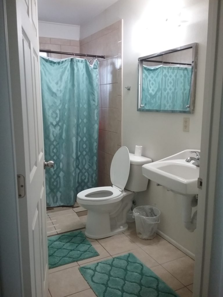 Bathroom at a group home