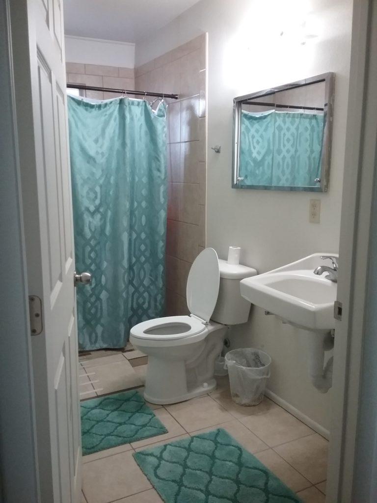 Bathroom at a group home